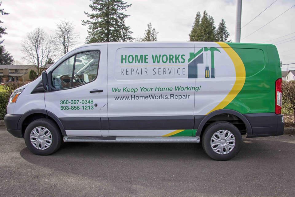 home improvement services van